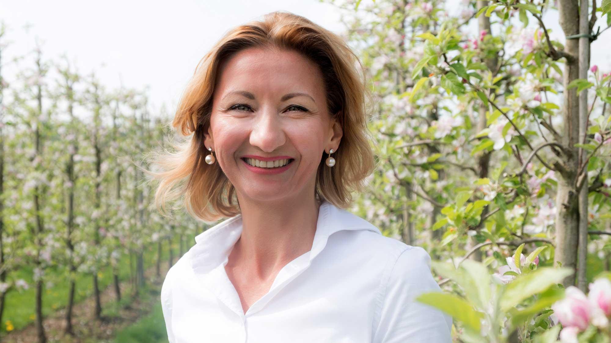Agata trainer fruitteelt